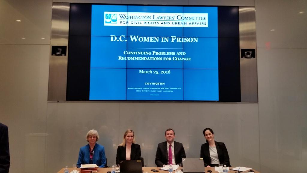 WLC Report-DC Women in Prison-Press conference 3.25.16 6